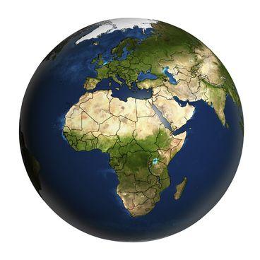 Afrikas grænser
